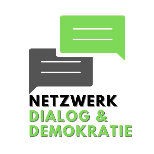 Logo Netzwerk Dialog und Demokratie Quadrat