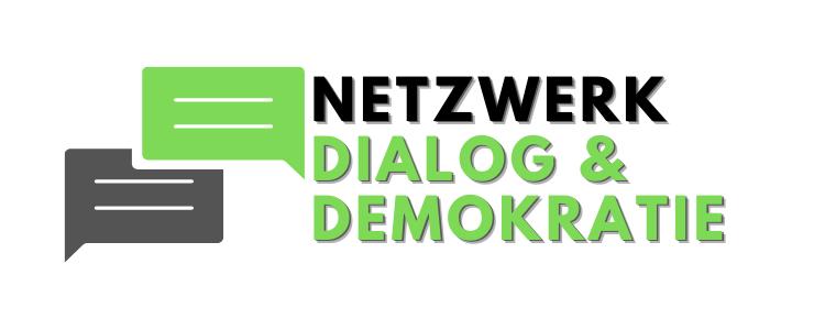 Logo Netzwerk Dialog und Demokratie Quer